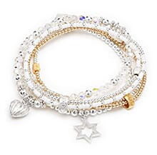 Rome city bracelet stack