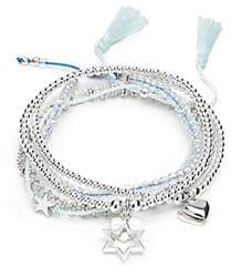 Polaris silver charm bracelet