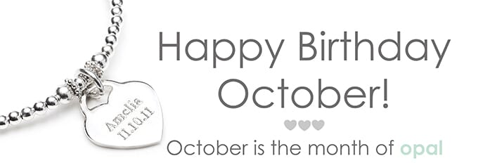 Happy Birthday October