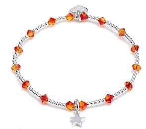 Minu star silver charm bracelet
