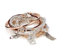LUMINOUS BRACELET STACK