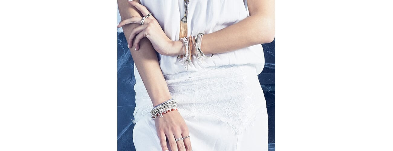 Arm candy to put on a show