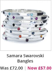 Samara Swarovski Bangles