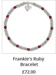 Frankie's Ruby Bracelet