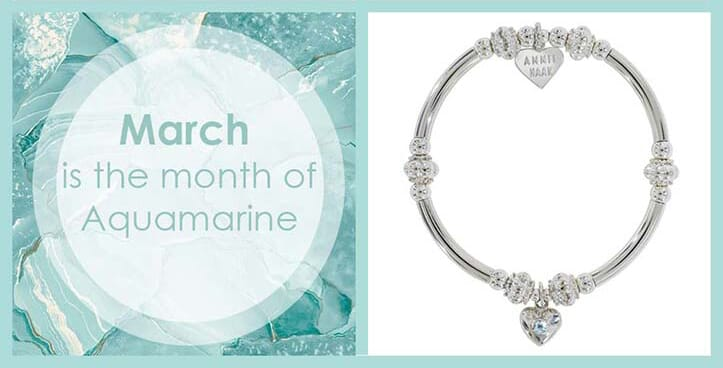 Month of March jewellery