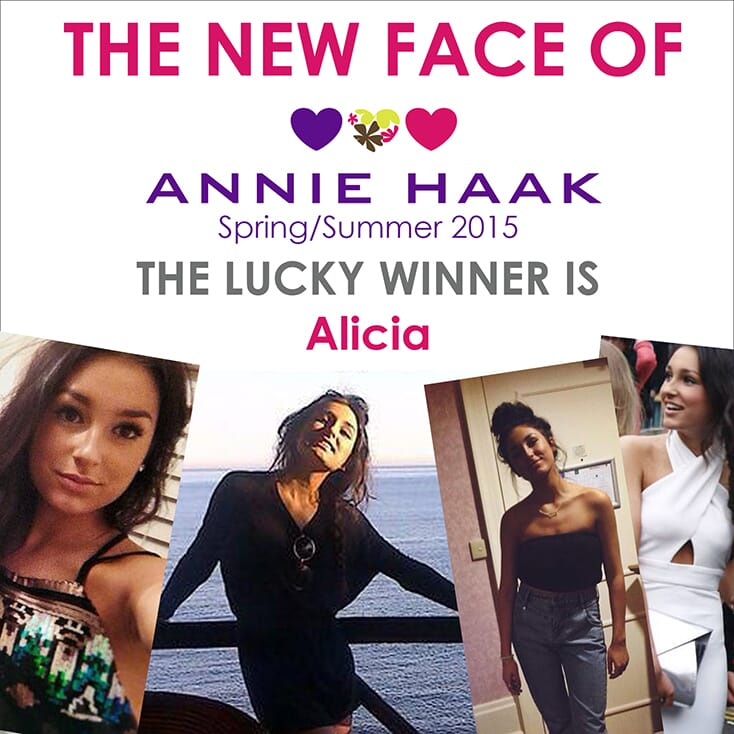 New Face of ANNIE HAAK Spring/Summer 2015 – Alicia