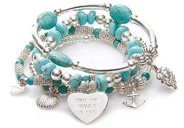 Ride the Waves Bracelet